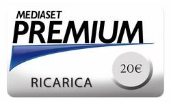 Mediaset Premium - Ricarica Mediaset Premium da 20€