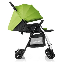 Brevi - Mini Large Passeggino superleggero (3,8 Kg) Colore Verde