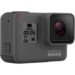 GoPro - HERO5 Black Action Cam 4K/30 12 Mpx Impermeabile 10m GPS Wi-Fi Bluetooth