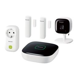 Panasonic - KX-HN6012JTW Wi-Fi kit di sicurezza domestica intelligente