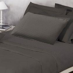 Randi - Completo letto in percalle 1 piazza Mod. Pois