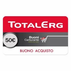 TotalErg - TotalErg Coupon Digitale € 50 (5 BUONI DA € 10)