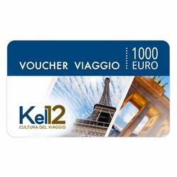 Kel 12 Travel S.p.A. - Kel 12 Travel S.p.A. Voucher Viaggio del valore di € 1000,00